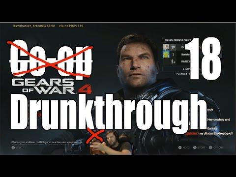 Gears of War 4 - Drunkthrough Part 18: Swarmak