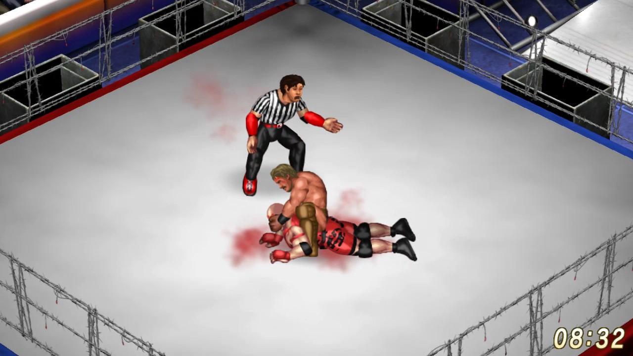 WG.de FPWW Turnier - Round 2 - Ryback vs. Chris Jericho - Barbed ...