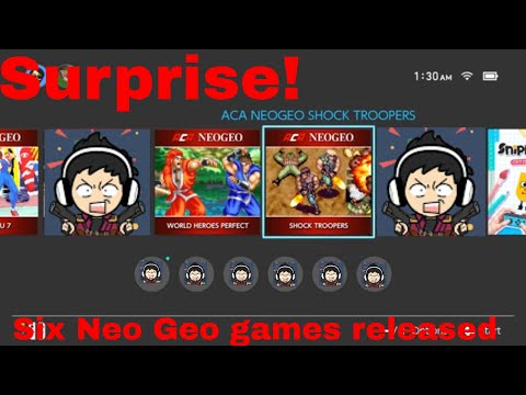 Surprise! Six Neo Geo games released on the Switch - my thoughts on each one