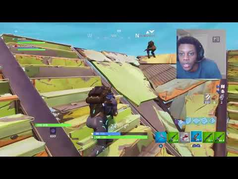 Dubs with Deejay Killa Pulse FORTNITE BATTLE ROYALE  Squads GAMEPLAY Epic Storm Escape