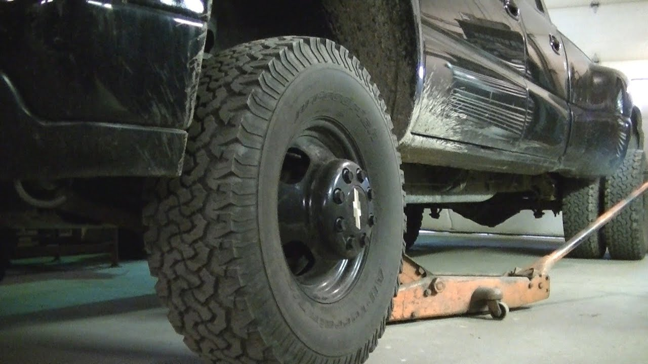 02 chevy dually front wheel bearing replacement part 1 of 2 youtube