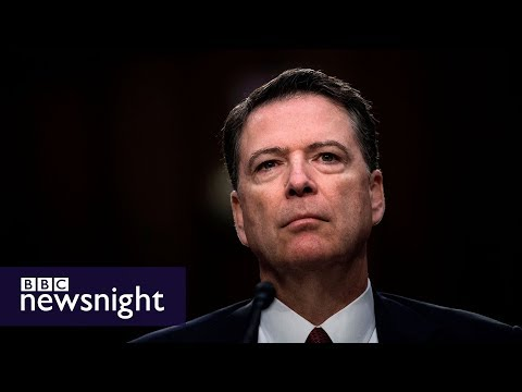 James Comey on Donald Trump and the FBI - BBC Newsnight