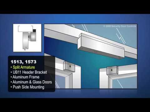 Magnetic Lock Installation Illustrations Electromagnetic Door Locks