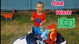 Kids Pretend Play w/ Fun Kids Car Wash Stories | Funny Stories for Kids |