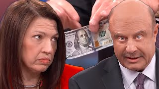 Dr Phil Flexes $80,000 On Lady Who Was Scammed By White Money