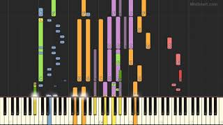 Joe Dassin - Salut (Instrumental Tutorial) [Synthesia]