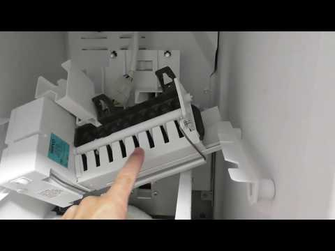 FRIGIDAIRE Refrigerator ICE MAKER FIX REPAIR REPLACE DETAILS HOW TO