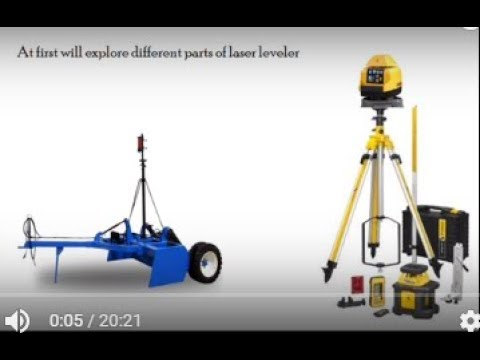 Laser leveler Installation