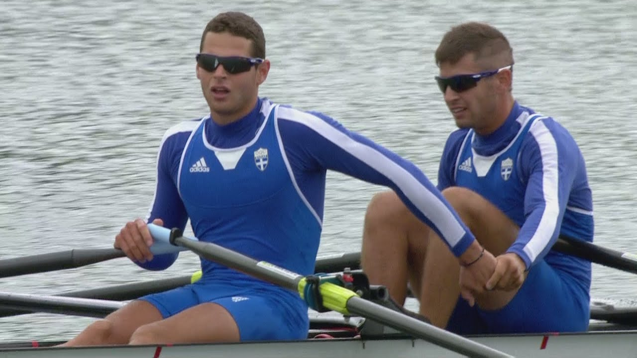 Men's Lightweight Double Sculls Rowing Repechage Replay ...
