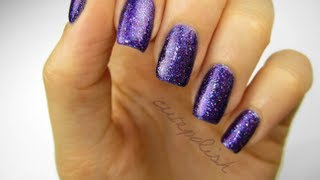Easily Remove Glitter Nail Polish!
