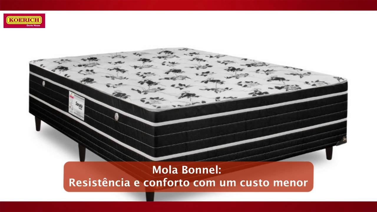 65be1883a Cama Box Casal Conjugada Molas Bonnel - YouTube