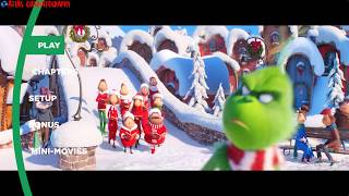 Dr. Seuss' The Grinch (2018) Blu-ray™ Disc   Main Menu