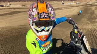 """Little kid on a fast ktm 450 dirt bike with funny voice over. deeganmedia-~-~~-~~~-~~-~-please watch: """"kid helps downed rider in..."""
