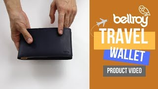 Bellroy Travel Wallet product video