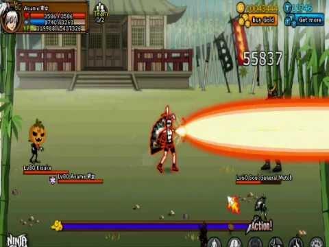 Ninja Saga : Ayame 彩女 vs Soul General Mutoh