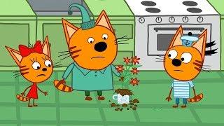 Три кота | Мамин цветок | Серия 112 | Мультфильмы для детей