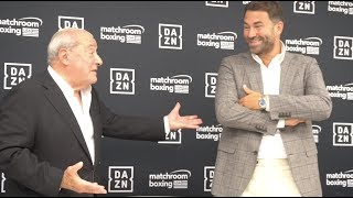 EDDIE HEARN & BOB ARUM GO AT IT OVER WBC FRANCHISE CHAMPION, DILLIAN WHYTE SITUATION & LOMA/CAMPBELL
