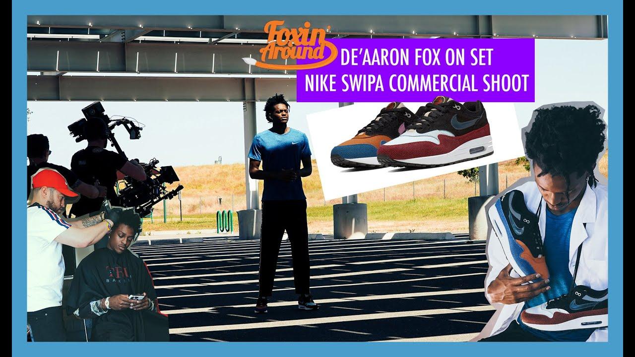 Watch: De'Aaron Fox's new Nike commercial