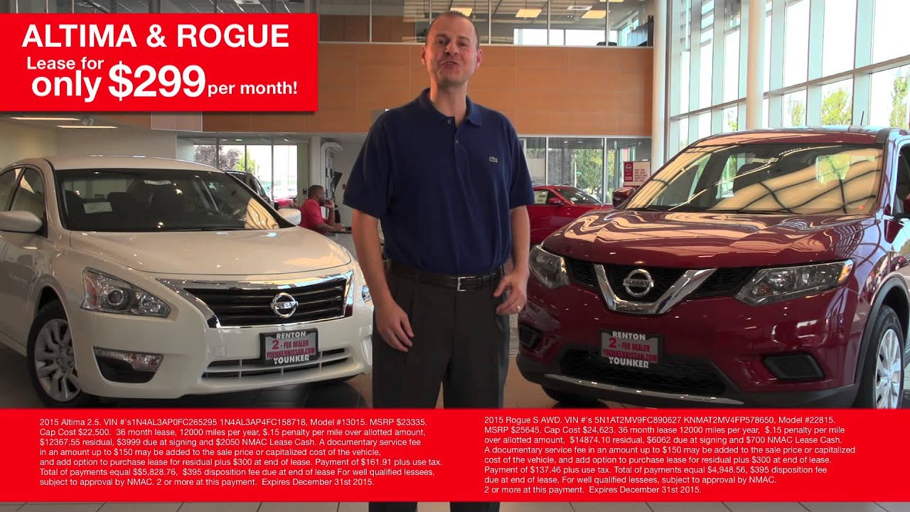 YOUNKER SPOT--Younker Nissan of Renton Busy at Work - YouTube
