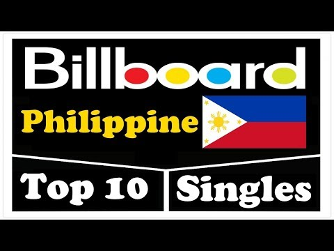 Billboard Top 10 Philippine Single Charts   July 31, 2017   ChartExpress