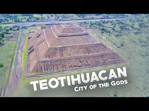 DRONE OFF A PYRAMID! - Teotihuacan Pyramid of the Sun and Moon.