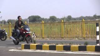Rolling Stoppie on Pulsar 220