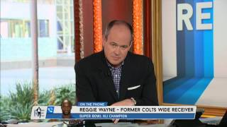 Former Colts WR Reggie Wayne on Peyton Manning's Legacy - 3/8/16
