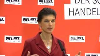 Sahra Wagenknecht, DIE LINKE:  »Wir werden Martin Schulz an seinen Taten messen«