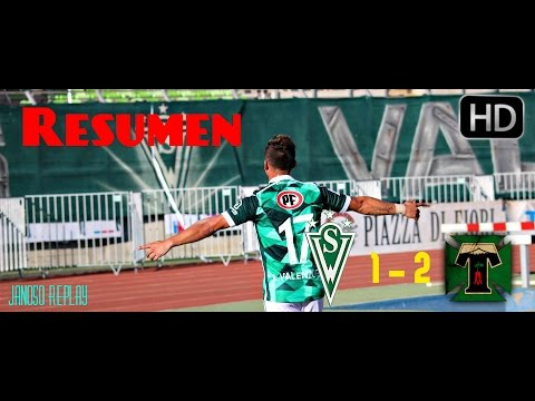 Resumen del Santiago Wanderers 1 Vs Deportes Temuco 2| 10°Fecha| Janoso