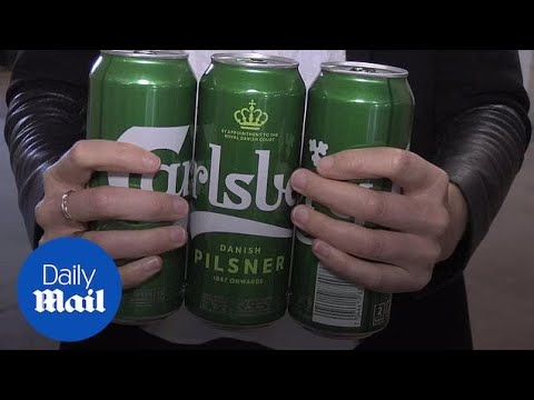 Carlsberg swaps plastic for glue on six-packs to curb pollution