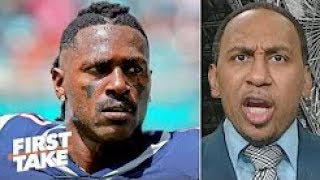 First Take 9/26/19 | Stephen A. Smith believes Antonio Brown still wants to play in the NFL