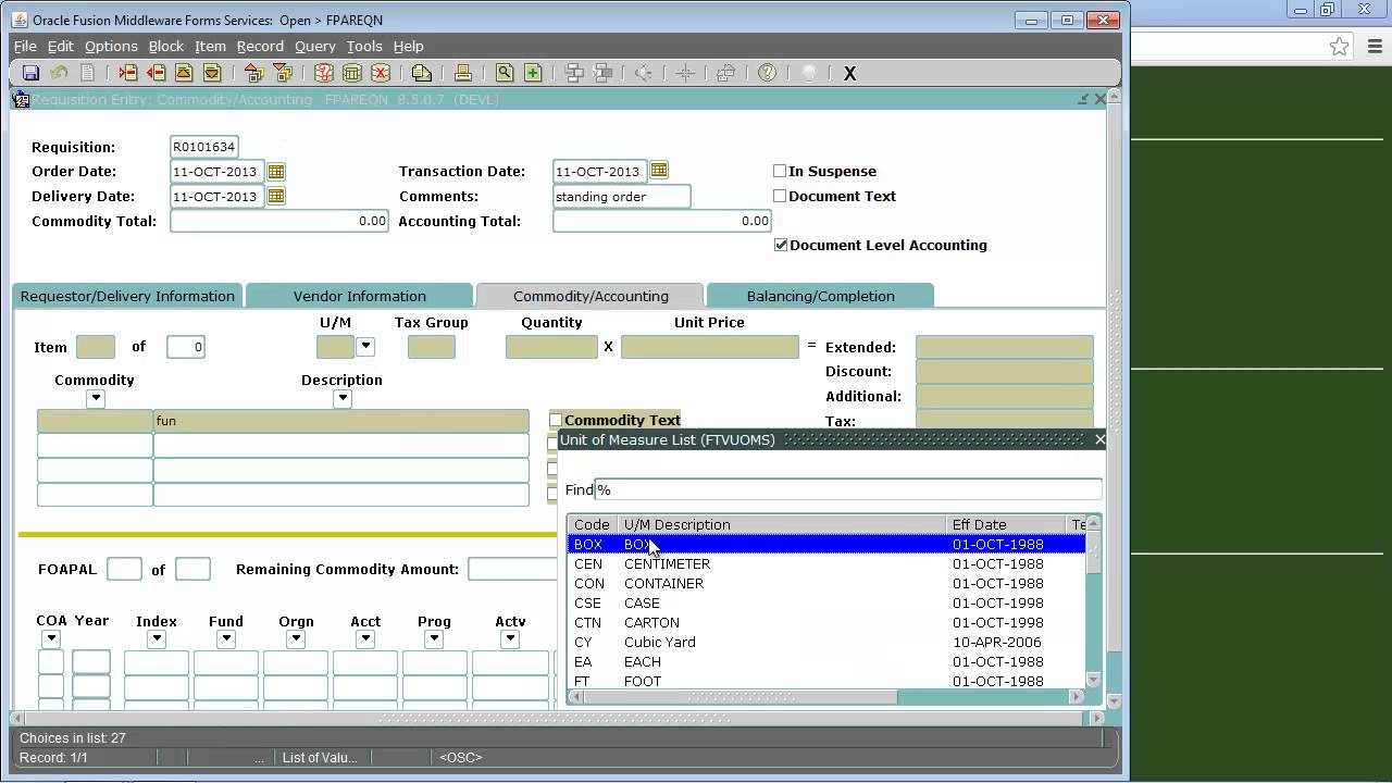requisition format in excel