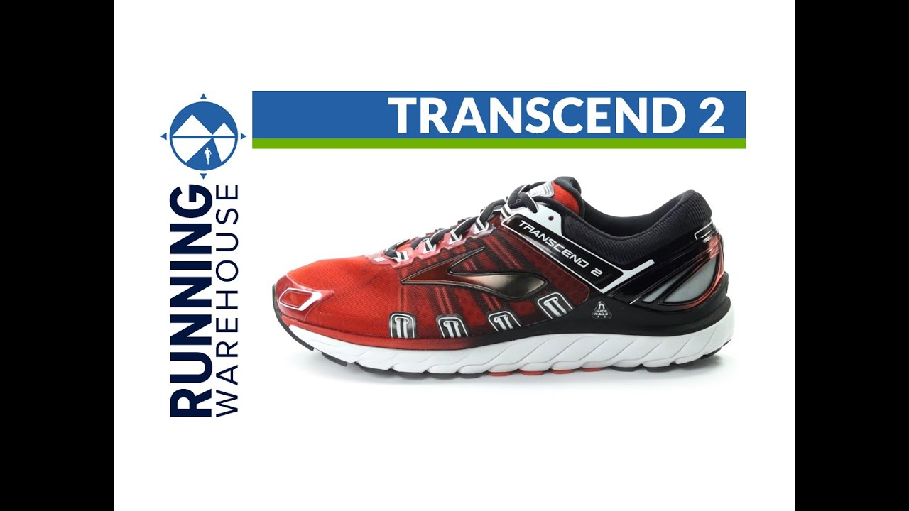 e9a1435a081 Brooks Transcend 2 for men - YouTube