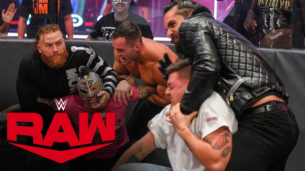Download Rey Mysterio wants payback against Seth Rollins: Raw, June 22, 2020