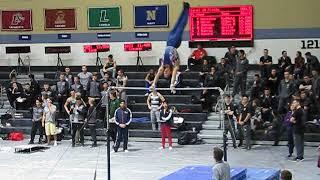 Eric Lung - Horizon Bar - West Point Gymnastics Open 2018 Finals