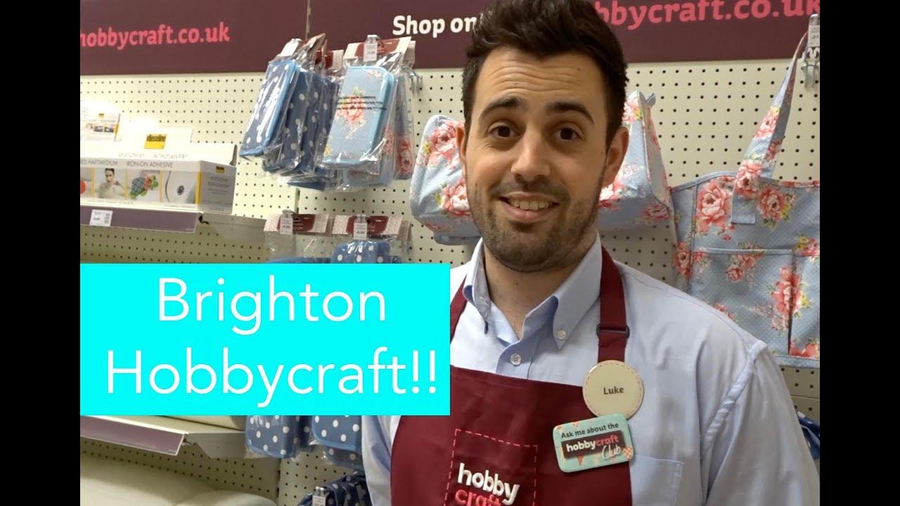 Vlog Hobbycraft Brighton Open Day Youtube