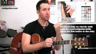 Let It Be - The Beatles - Guitar Lessons - Easy Acoustic Free Online Beginners Song Tutorial