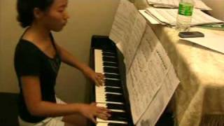 Music Malaysia - Love Story piano practice