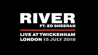 Eminem - River ft. Ed Sheeran (LIVE AT TWICKENHAM 2018)