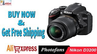 Affordable Dslr Camera (Nikon D3200) On AliExpress  & Get discount