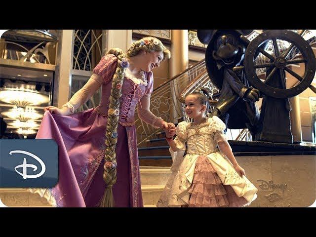 Disney Junior Let's Go | Tangled Adventures on Disney Cruise Line