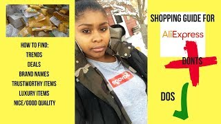 HOW TO SHOP ON ALIEXPRESS 2K18| brands, trends, deals & more!