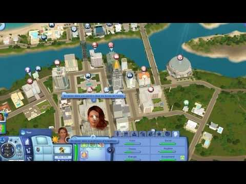 Les Sims 3 roaring height ep1 : Une nouvelle ville