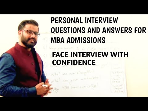 Personal Interview Question for MBA Admission 2017, GD/PI questions 2017,