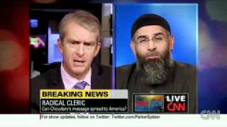 "CNN: Eliot Spitzer Confronts Imam Anjem Choudary: ""You Are A Violent And Heinous Terrorist!"""