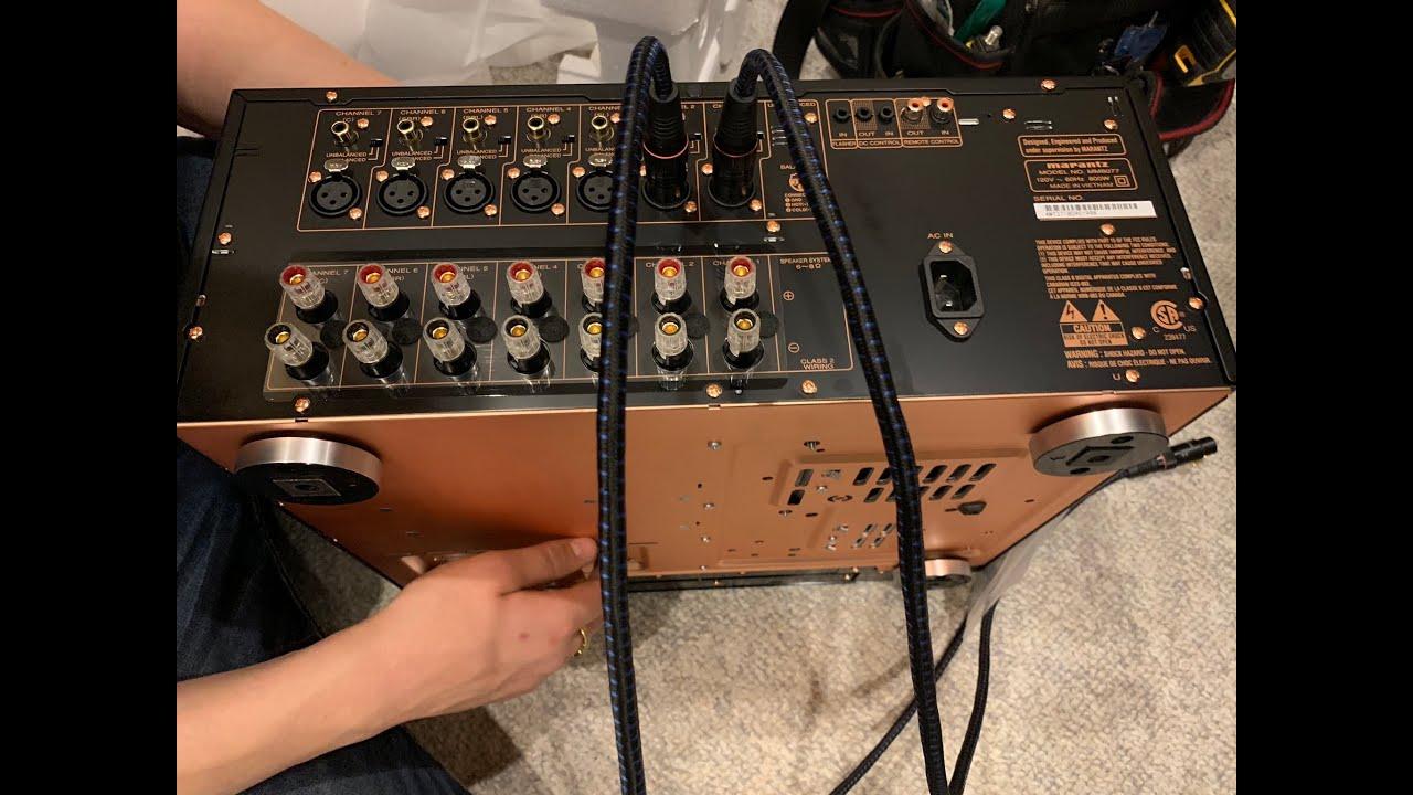 Unboxing Marantz MM8077 7-Channel Power Amplifier
