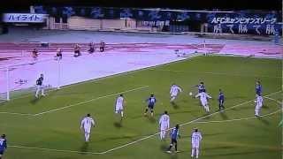ガンバ大阪(Gamba Osaka)対ブニョドコル(FC Bunyodkor) ハイライト