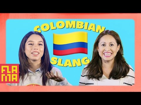 Latinos Guess Colombian Slang