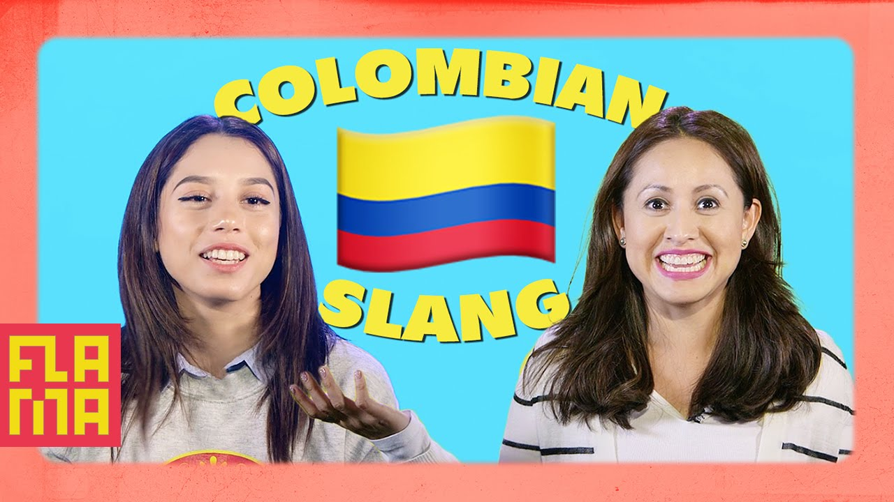 latinos guess colombian slang youtube