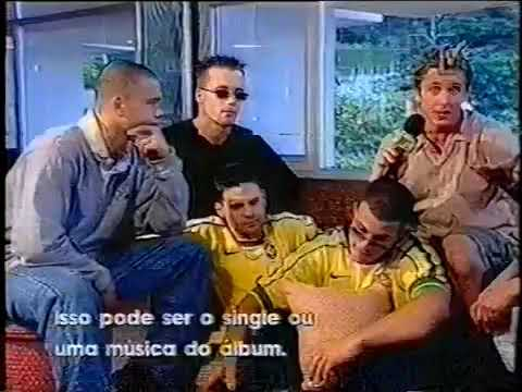 5ive (five)-interview on the mtv brazilian mtv 1999